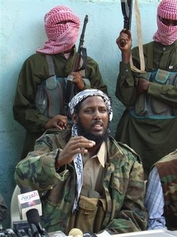 Mukhtar Robow, a spokesman for Shebab