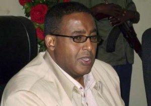 Somalia's Prime Minister Omar Abdirashid Ali Sharmarke