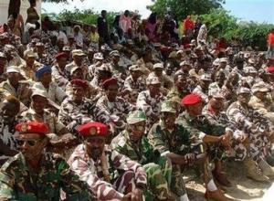 Former Somali military
