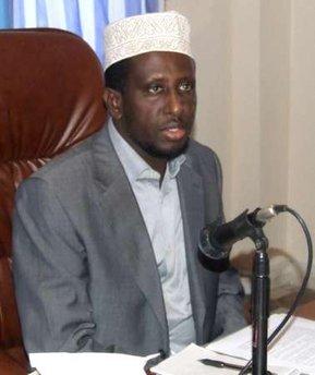 president, Sharif Sheikh Ahmed