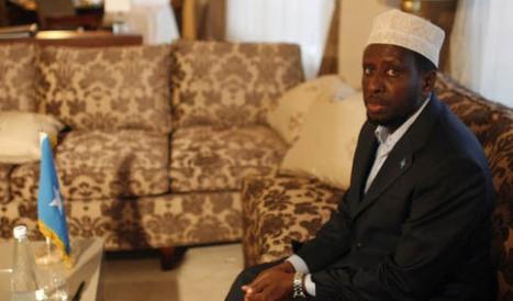 Somalia's President Sheikh Sharif Sh Ahmed