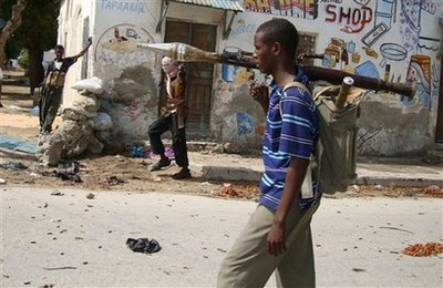 SOMALIA ISLAMIST FIGHTERS
