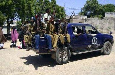Somali police forces