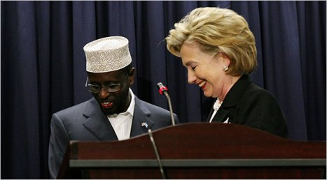 Clinton Offers Assurances to Somalis