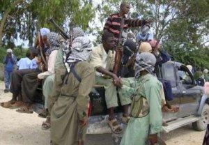 Islamist Al-Shabaab fighters