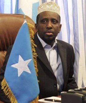 Somalia's President Sheikh Sharif Ahmed 1