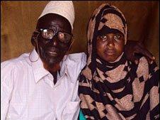 Ahmed Muhamed Dore and his new wife Safia Abdulleh