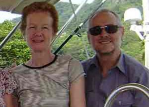 Paul and Rachel Chandler have been seized by Somali pirates as they sailed around the world