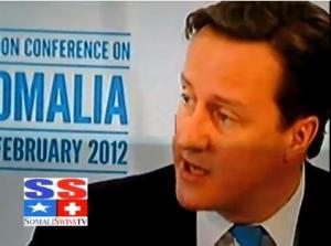 david Cameron London Somali
