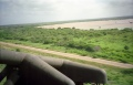 Somalia - Flying from the Kismayo airfield to Jilib in a Blackhawk. We used to joke about seeing the Equator from the air.