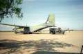We saw more than a few of these German C-160s delivering food supplies at the Kismayo airfield.