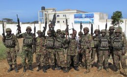kenyan army at kismayo university