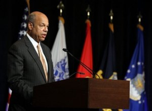 Defense Department General Counsel Jeh Johnson