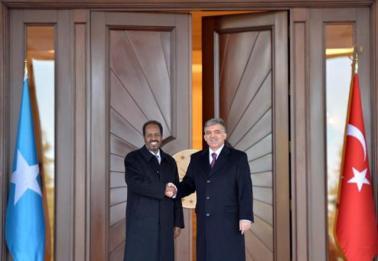 Madaxweynayaasha Somalia & Turkiya