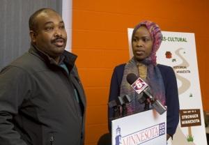 Mohamud Nur and Ayan Abdinur