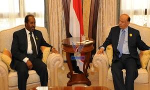 President with Somali president