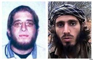 U.S. citizens Omar Shafik Hammami (R) and Jehad Serwan Mostafa