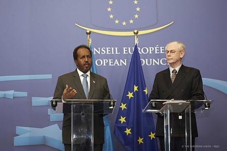 Madaxweyne Hassan-and-EU-