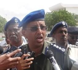 Taliyaha Booliiska Somalia.
