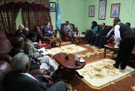 Wasiirka Norway iyo wasiiradda Somalia 1