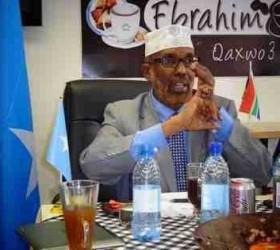 Safiirka  Koonfur Afrika Sayid-Shariif