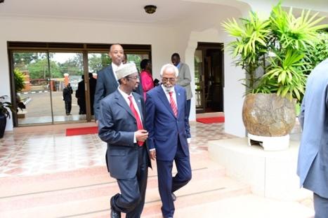 G.Barlamaanka iyo Museveni