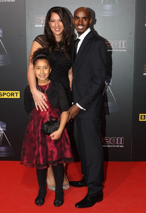 Distance-runner-Mo-Farah-wife-Tania-and-daughter-Rihanna-2256824