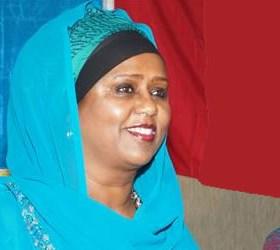 foreign minister Fawzia Yusuf Adam