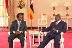 Madaxweynayaasha Soomaaliya & Uganda