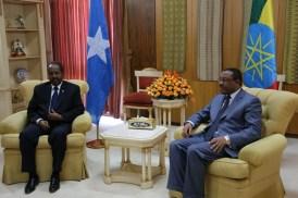 Madaxweyne xasan iyo kan Ethiopia