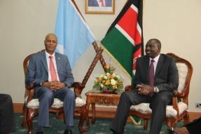 Ra'iisal-waasaraha Soomaaliya & M. Ku.xigeenka Kenya
