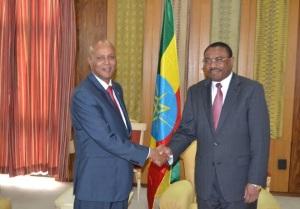 Ra'iisulwasaarayaasha Soomaaliya iyo Ethiopia1