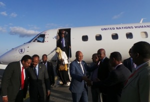 Ra'iisal-waasaraha tegay Addis Ababa