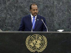Madaxweynaha Soomaaliya UN