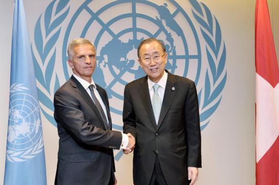 Ban Ki Moon & Bichal