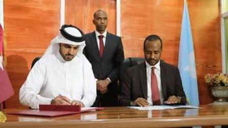 Heshiis Qatar iyo Somalia