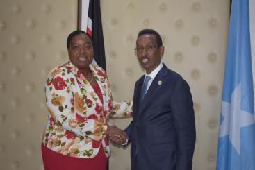 Somalia iyo Kenya